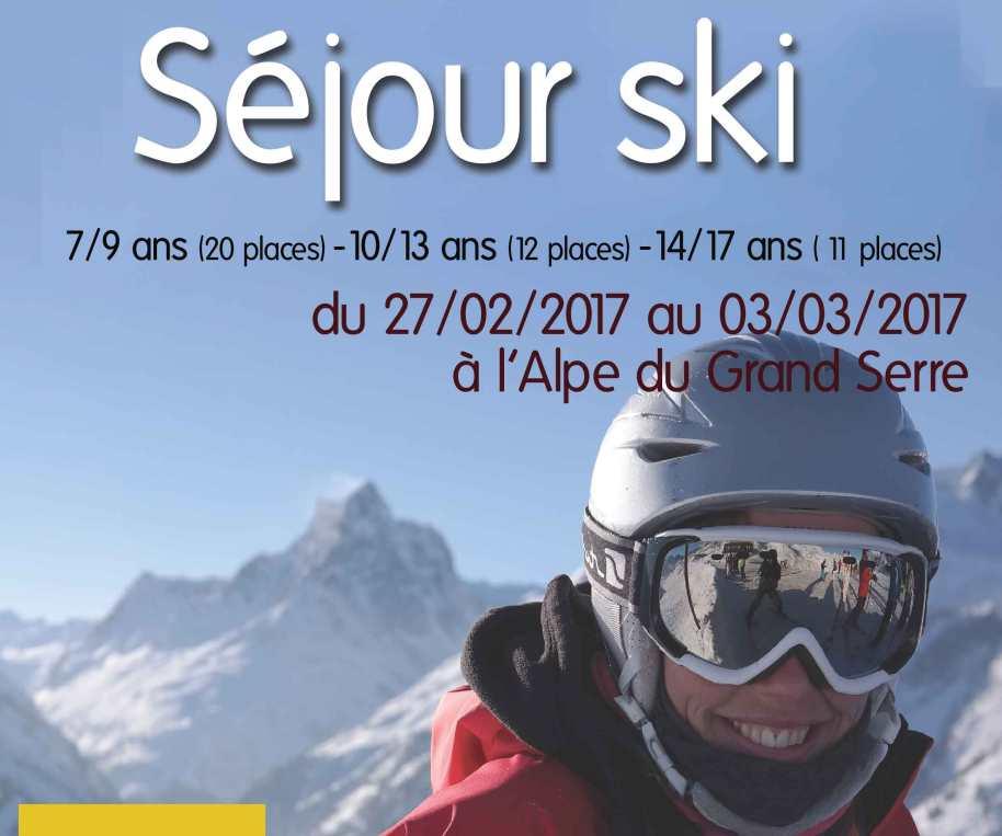 séjour ski centre social tournon Fevrier 2017