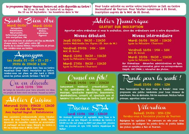 Olà Senior - Centre socioculturel Tournon