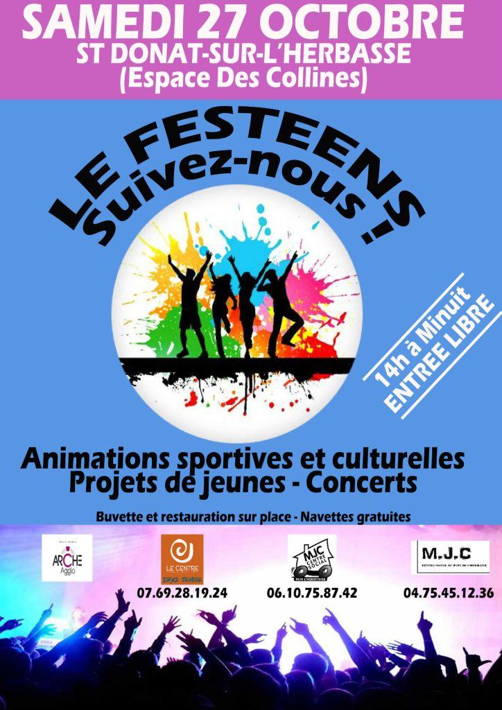 Festeens centre socioculturel tournon