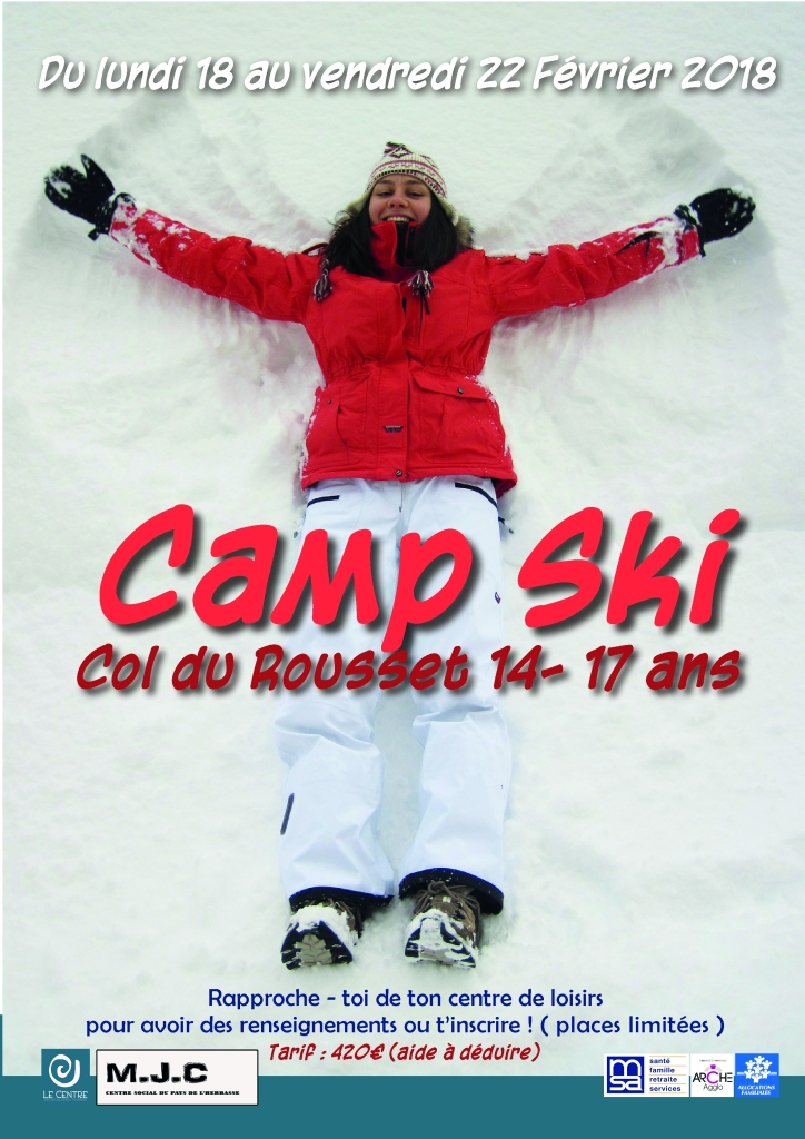 camp ski 2019 centre socioculturel tournon sur rhone