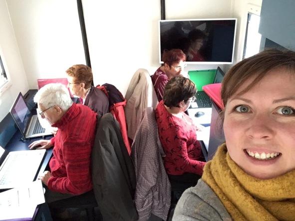 camping car seniors LISA jeunesse connecté du centre socioculturel tournon ARCHE AGGLO