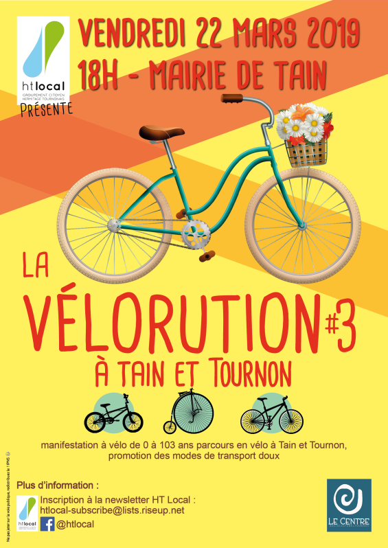 vélorution 2019 centre socioculturel Tournon HTLocal