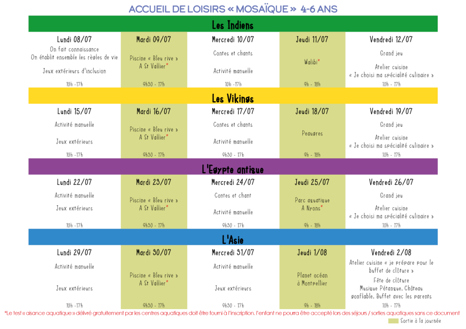 Centre de loisirs centre socioculturel tournonVacances 07081910-133