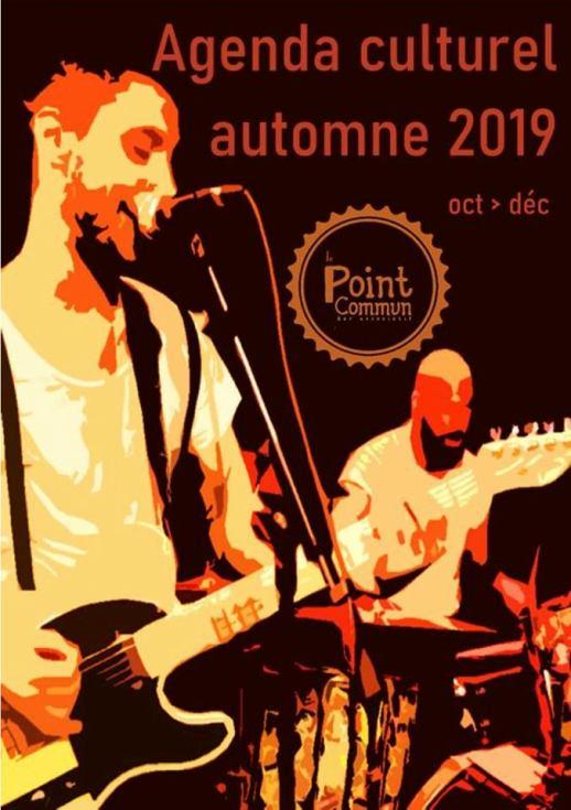 Le Point Commun programme centre socioculturel de Tournon sur rhone