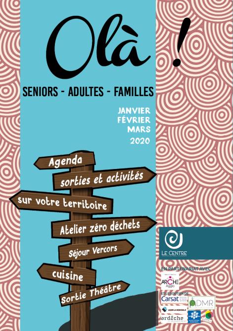 Programme activité centre socioculturel tournon sur rhone ARCHE agglo