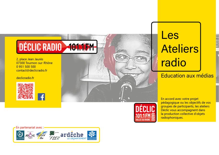 plaquette pédagogique déclic radio éducation média