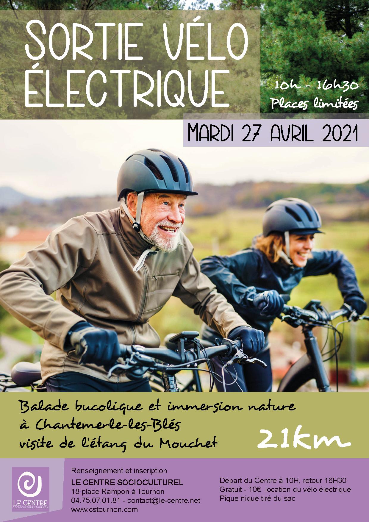 Sortie vélo élétrique