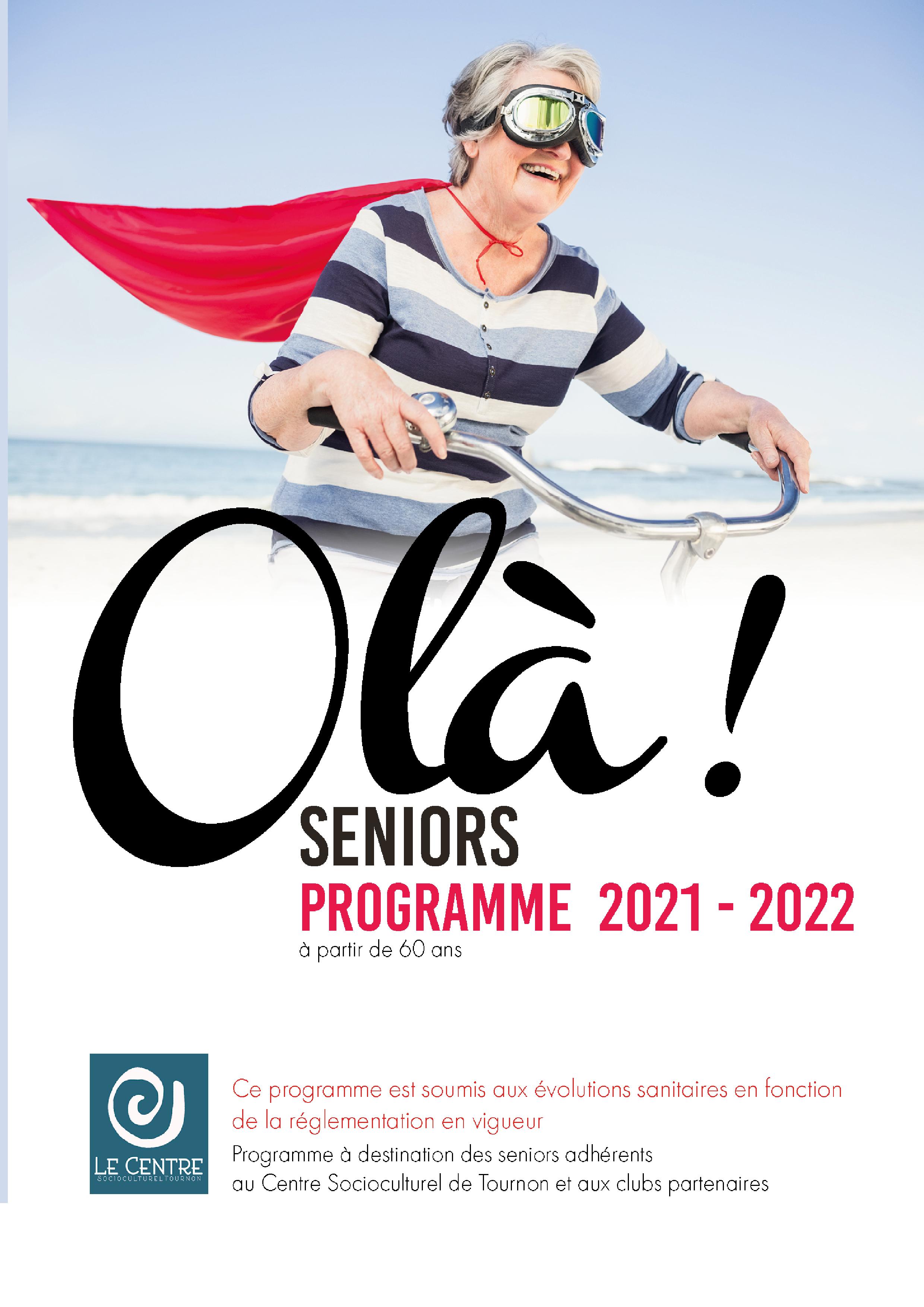 Programme Senior web